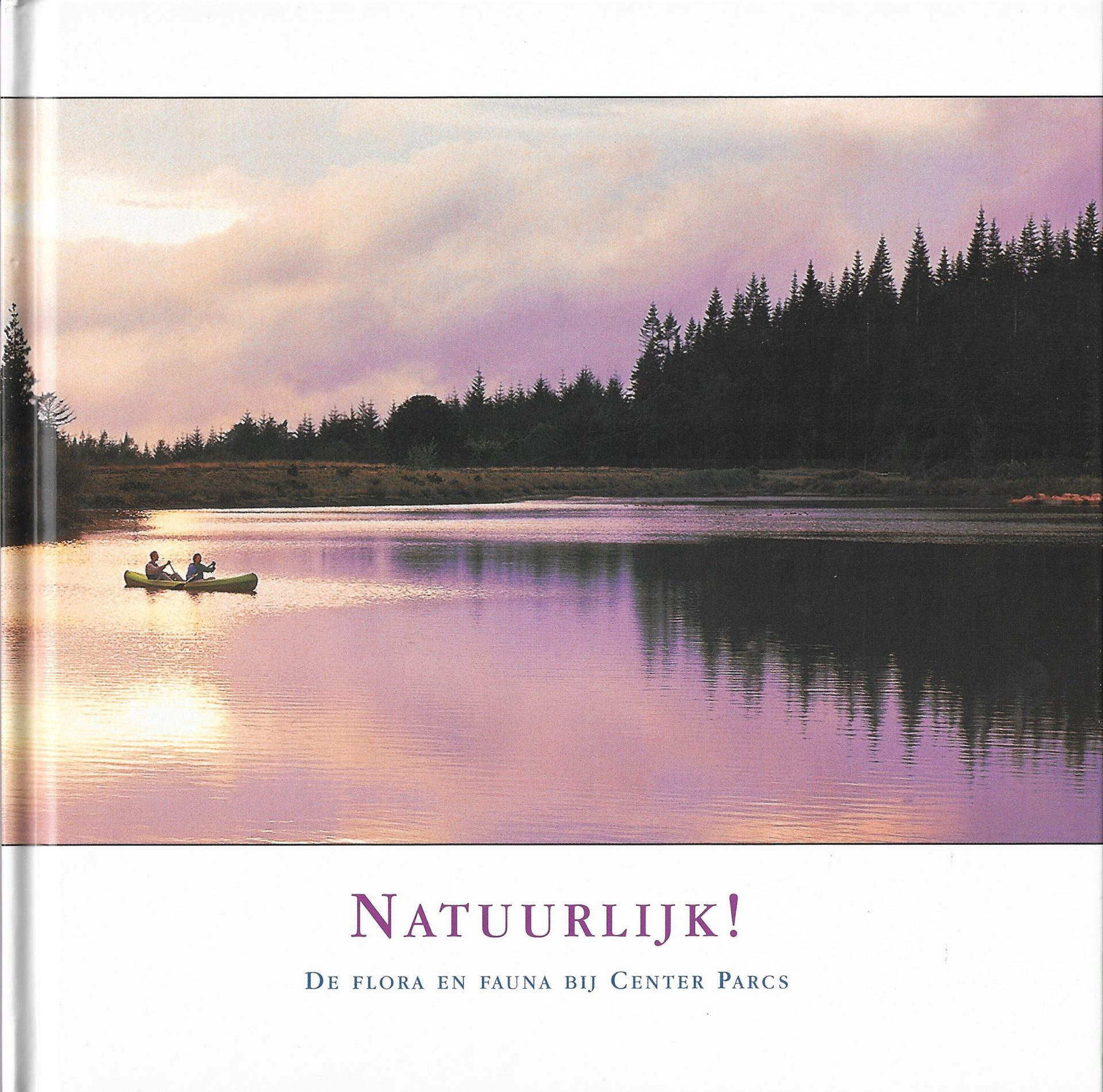 Natuurboek voor Center Parcs