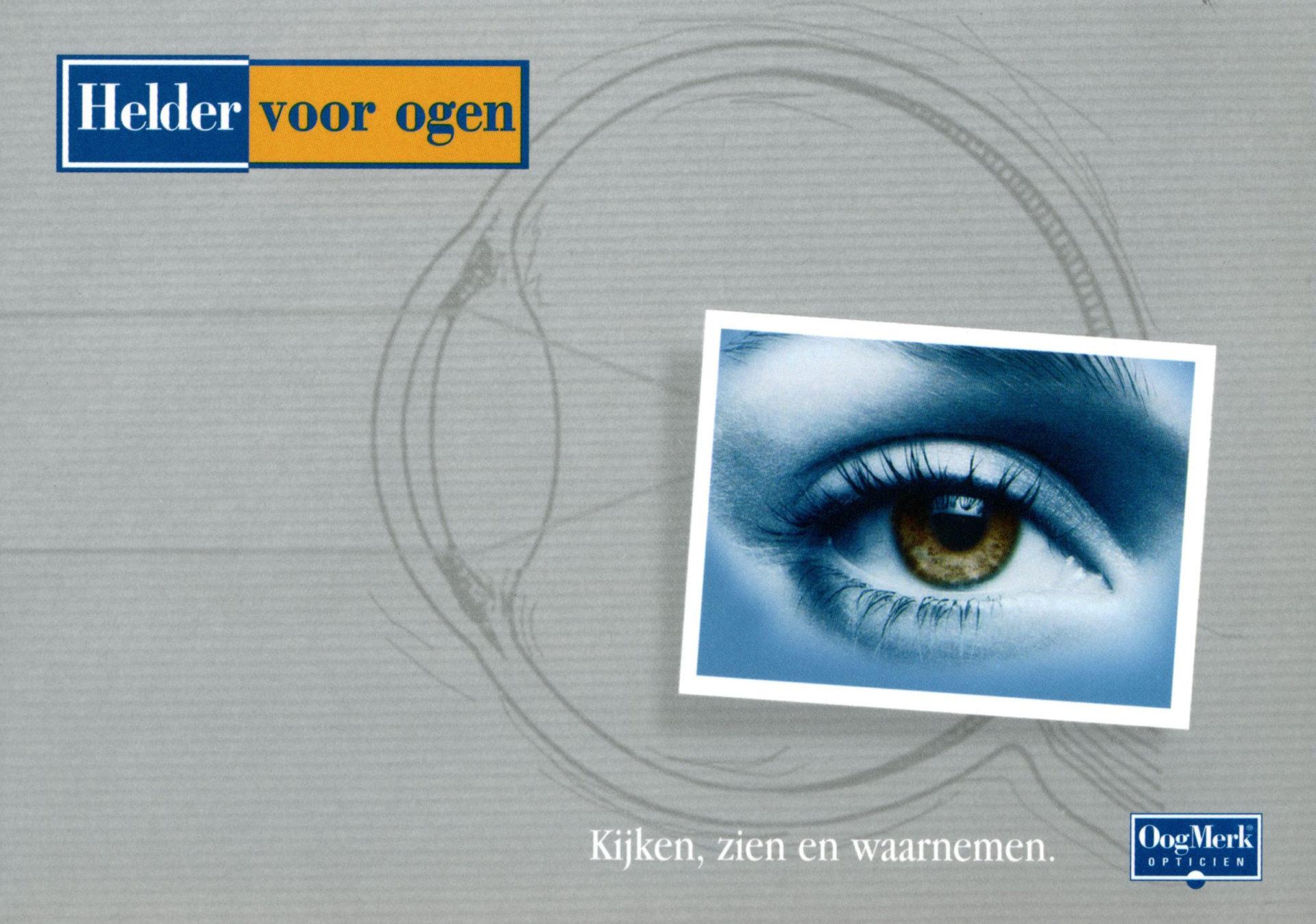 oogmerk oog voor ogen