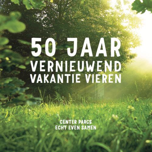 Gastenboek 50 jaar Center Parcs